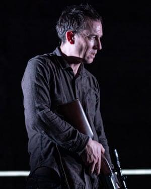 Tobias Menzies as falsely accused teacher Lucas in The Hunt.