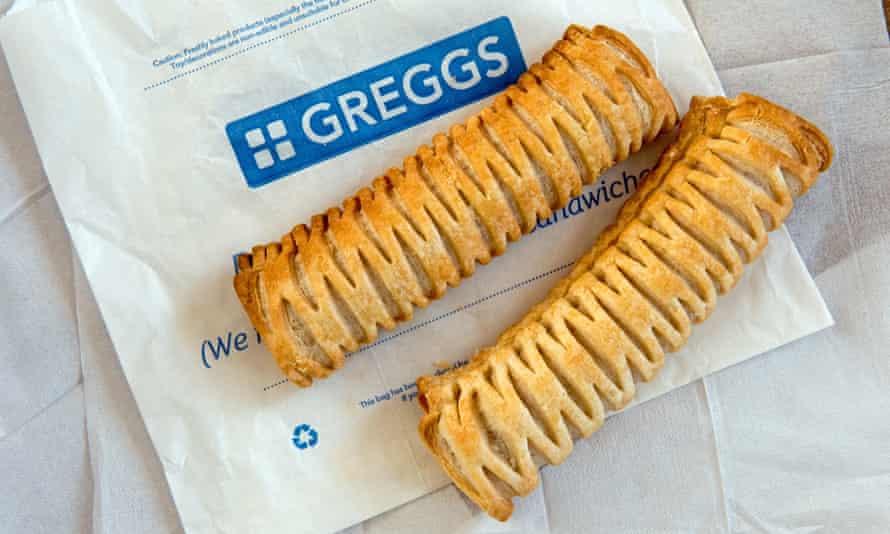 Two pack: Greggs bestselling vegan sausage rolls.