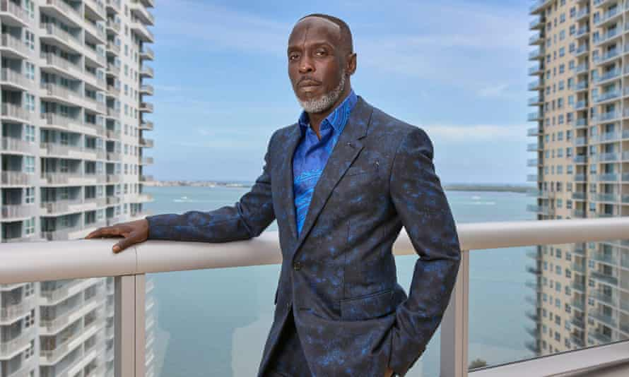 Michael K Williams in Miami, Florida, in March this year.