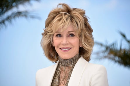 Jane Fonda at the Cannes film festival in 2015.