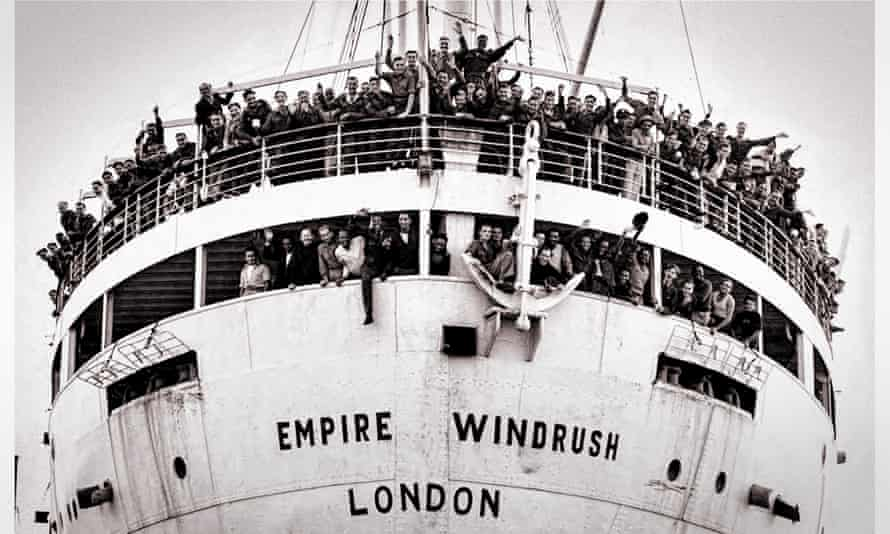 People from the Caribbean arriving at Tilbury, Essex, to start new lives in Britain, 1948