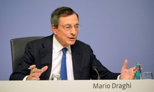 Mario Draghi, President of the European Central Bank (ECB), at his final press conference today.