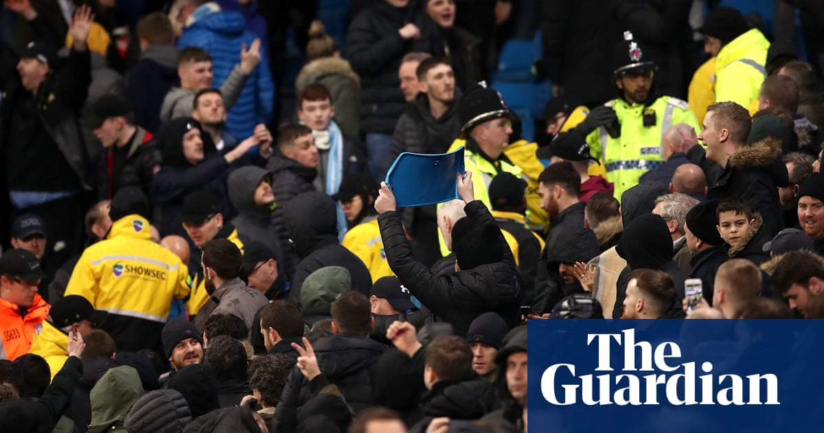 Ole Gunnar Solskjær and Pep Guardiola condemn taunts and fan trouble