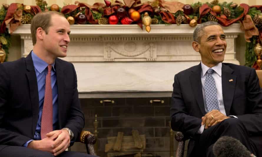 President Obama hosts the duke.