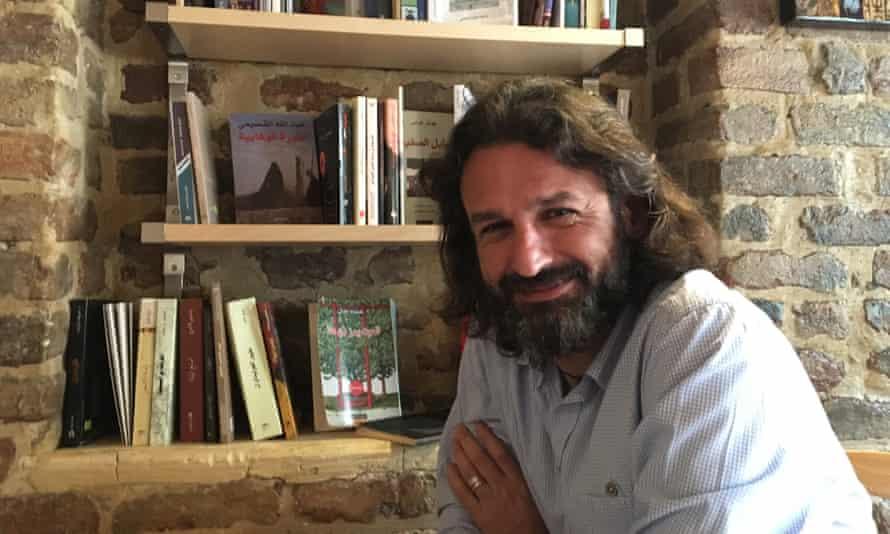 Samer al-Kadri, creator of the bookstore