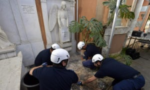 The opening of two tombs at the Pontifical Teutonic Cemetery last week as part of the investigations into the disappearance of teenager Emanuela Orlandi.