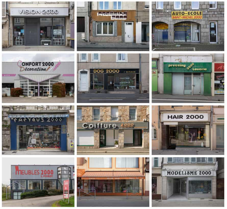 2000 was the future once … shopfronts.