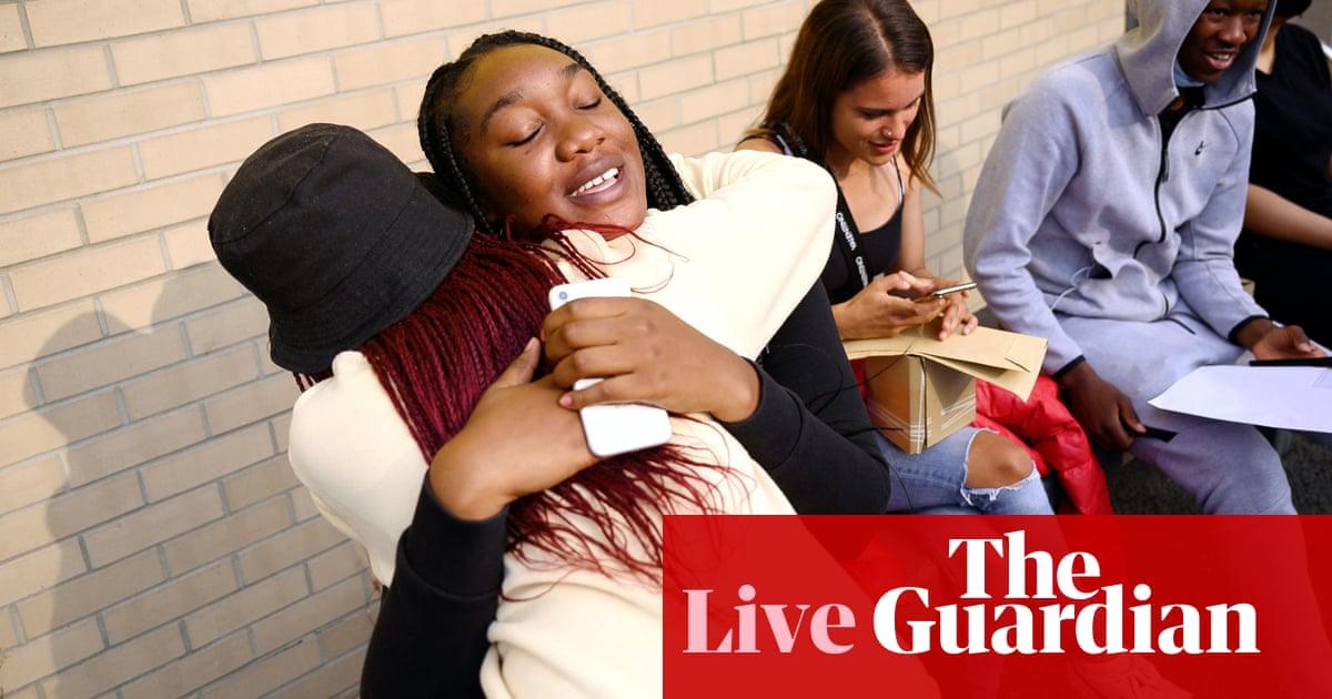 A-level results day 2021 live: hundreds of thousands await teacher-assessed grades