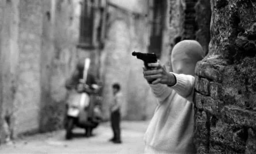 Shooting the Mafia.