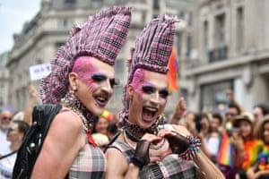 Pride punks on parade