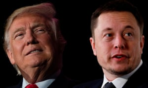 Donald Trump and Elon Musk