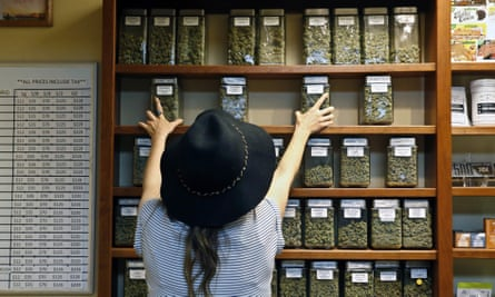 A medical cannabis dispensary in the US state of Colorado.