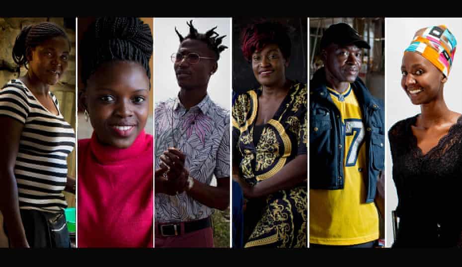 Kibera's entrepreneurs. All photographs by Kate Holt