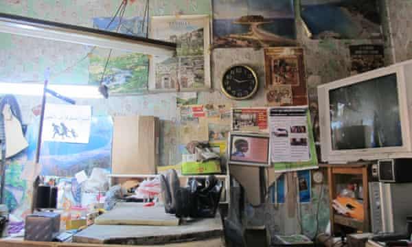 Yalçın Yanik's workshop.