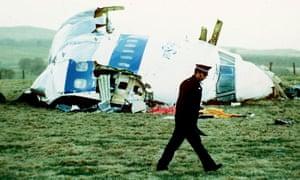 Wrecked Pan Am flight 103