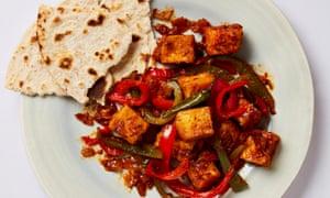 Meera Sodha's chilli tofu.