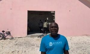 Charles Ilfrenord, pastor of New Haitian Mission Baptist church.