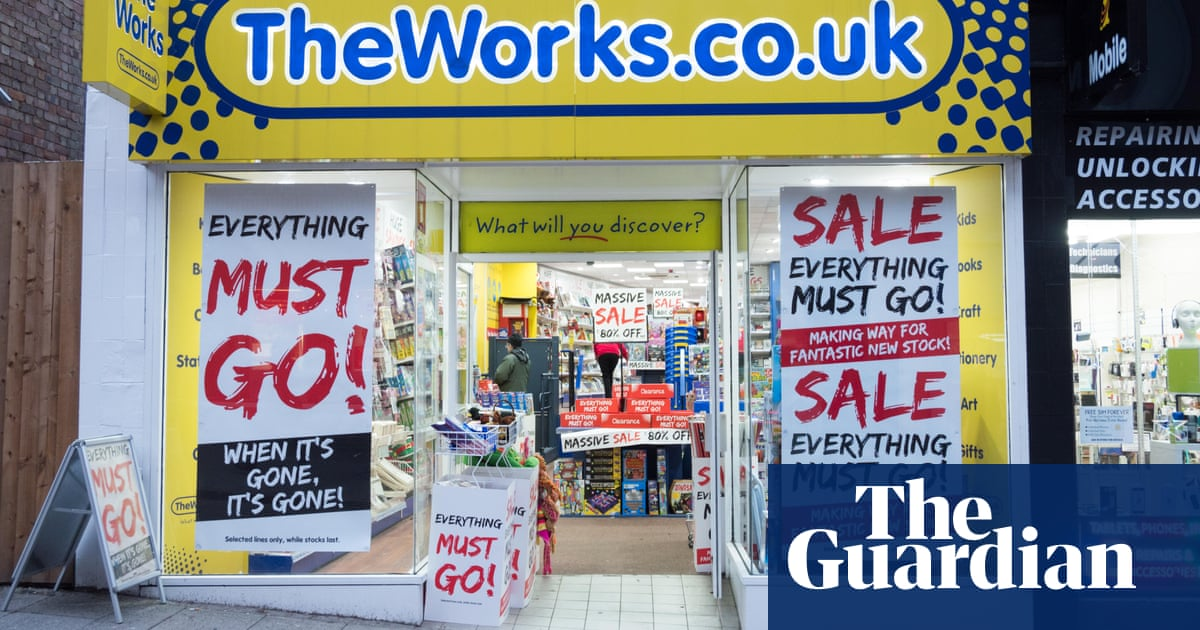 Retail Chain The Works Plans 100m Stock Market Float Business