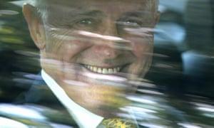 Malcolm Turnbull in Hamburg on Thursday