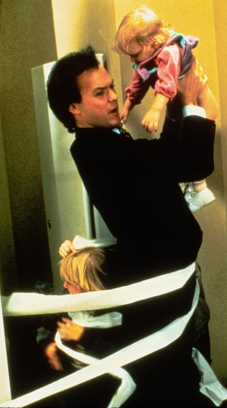 Actor Michael Keaton in Mr Mom (1983).