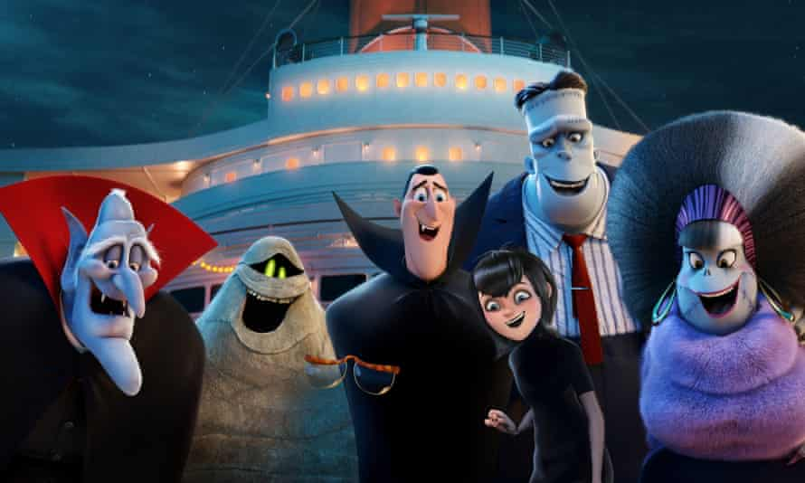 Cruise control … Hotel Transylvania 3: Monster Vacation.