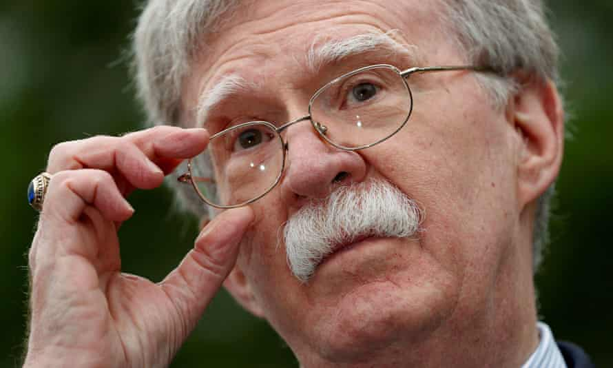 John Bolton US national security advisor
