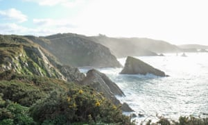 Gorgeous Galicia … the coastline around Praia do Picón