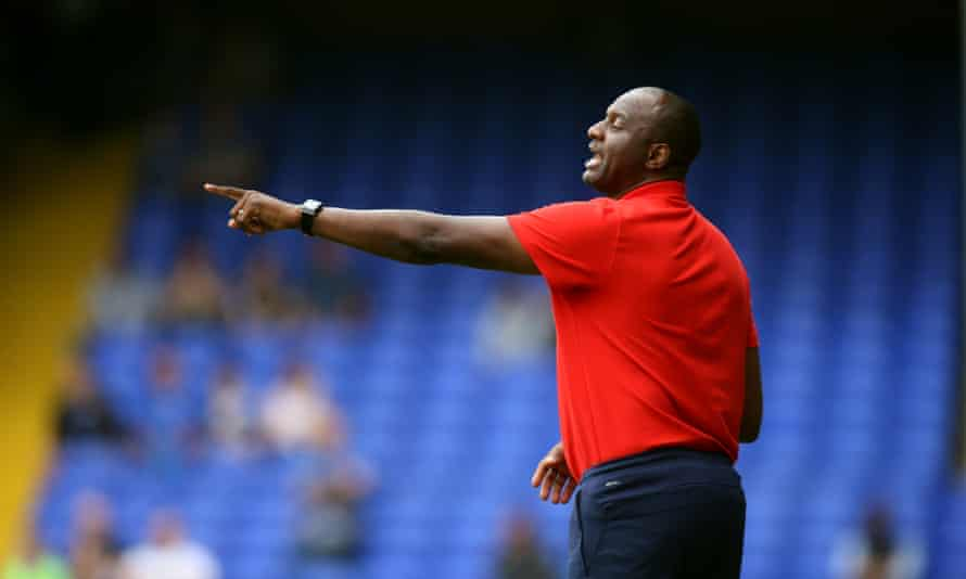 Former Arsenal player Patrick Vieira has taken over from Roy Hodgson as manager of Crystal Palace