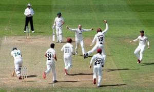 fff2b5de County cricket: Essex thrash Yorkshire, Somerset beat Notts – as it ...