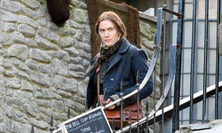 Kate Winslet as Mary Anning.