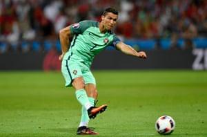 Cristiano Ronaldo shoots