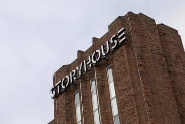 Storyhouse ChesterFor Guardian Labs Public Services Award supplement. Pictured are some of the Library team based at the Storyhouse complex in Chester. Pictured is the complex. Photo by Fabio De Paola