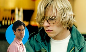 Life lessons... Darren Criss in The Assassination in of Gianni Versace (left) and Ross Lynch in My Friend Dahmer.