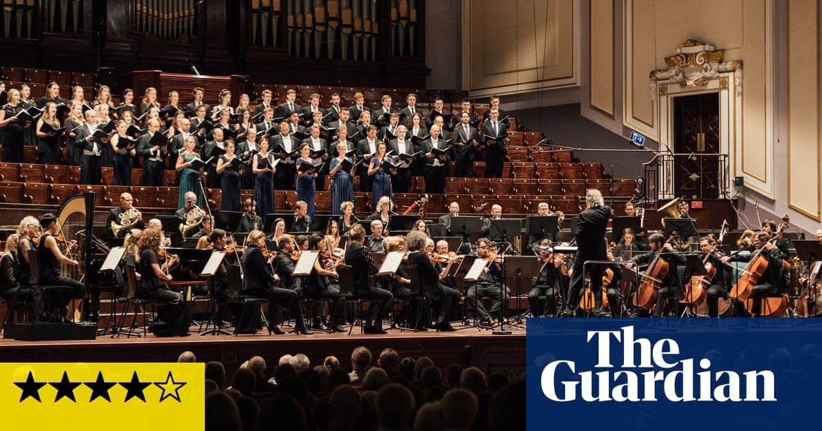 SCO/Christophers review – premiere of James MacMillans ecstatic Fifth Symphony