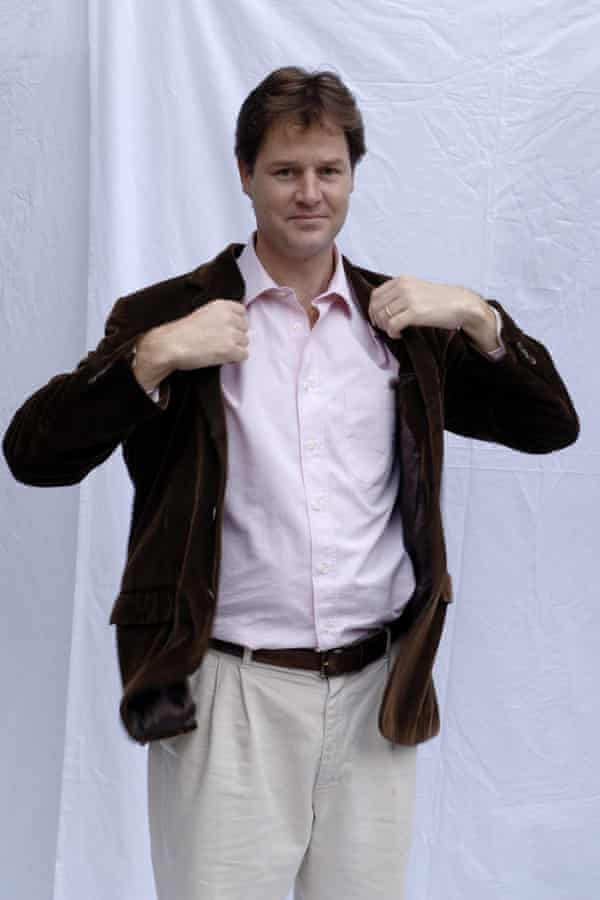 Nick Clegg in 2005.