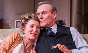 'Deeper than she lets on': Eve Best and Anthony Head in Love in Idleness.
