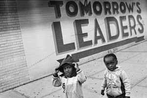 Tomorrows Leaders, Bed Stuy, Brooklyn, 2013 Andre D Wagner is a poet and a photographer whose work aims to capture the black experience in Brooklyn.