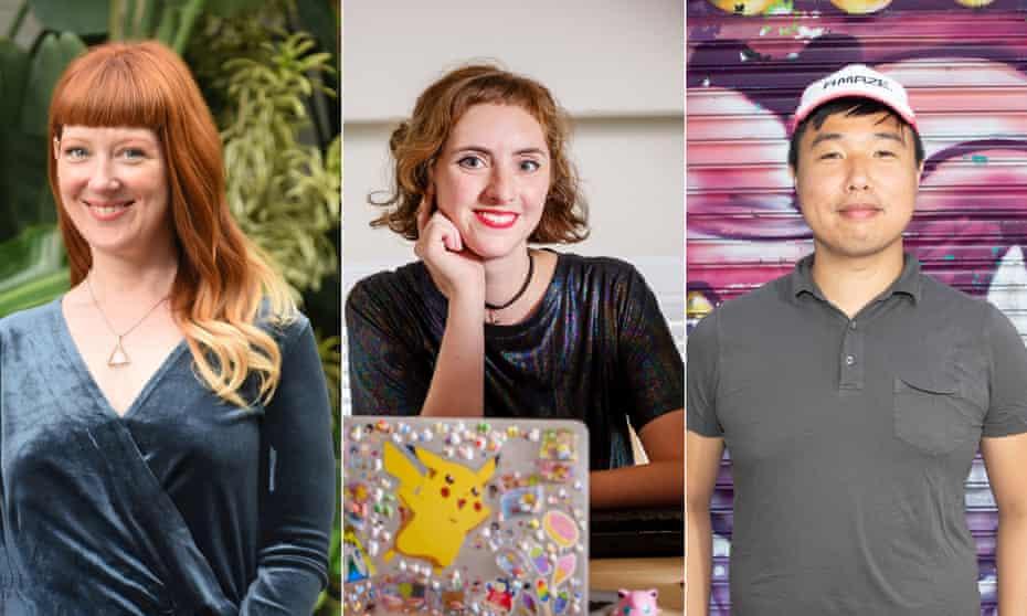 Game designers Robin Hunicke, Nina Freeman and Robert Yang