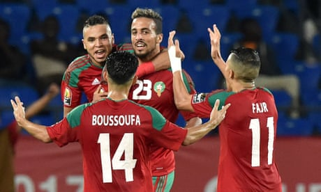 Morocco's Rachid Alioui puts holders Ivory Coast out of Africa Cup of Nations