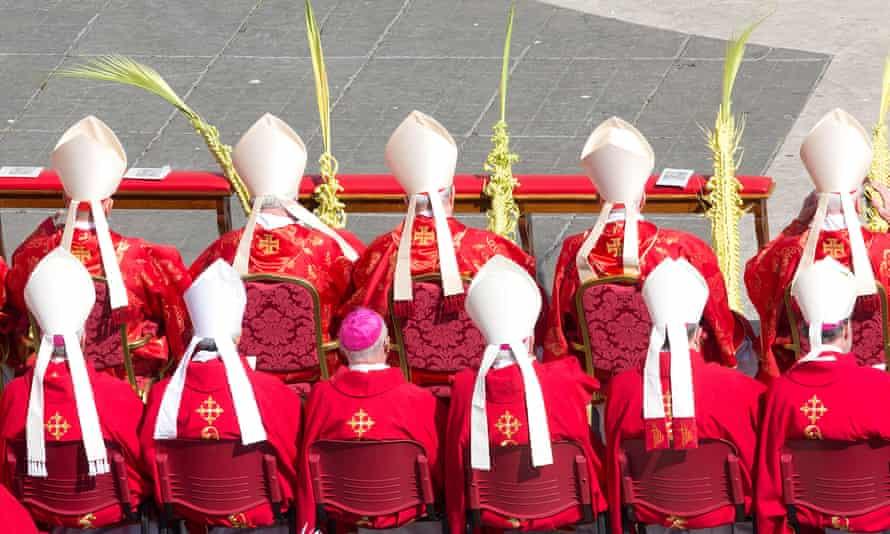 Cardinals in the Vatican