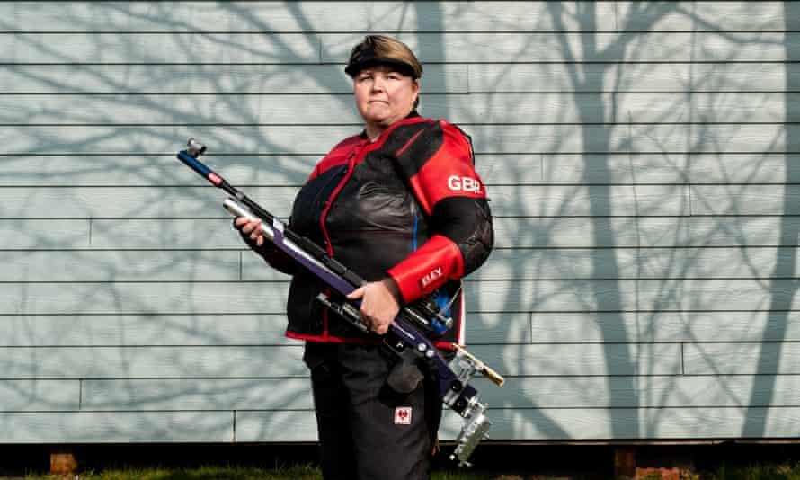 Paralympics GB shooter Lorraine Lambert.
