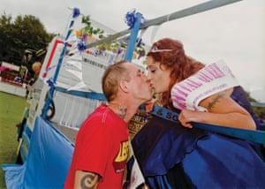 2013 Nightrose Bridal Queen of Sleaford, Lincs,Sara Brown escorted by Mr Jaygeb Brown