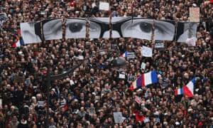 Paris rally.