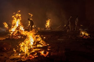 Burning pyres