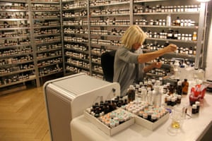 Sissel Tolaas's library contains 7,000 different recreated smells