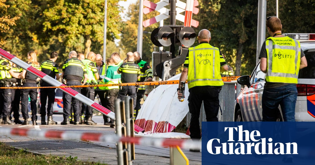 Four children killed as train hits cargo bike at Dutch level crossing | World news | The Guardian