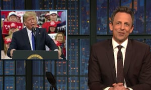 Seth Meyers: 'Democrats are actually appointing experienced litigators while Trump's team is just a bunch of heavies who he picked up off a street corner in Bayonne.'