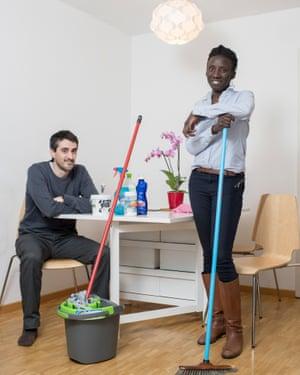 Jérôme and Fatou
