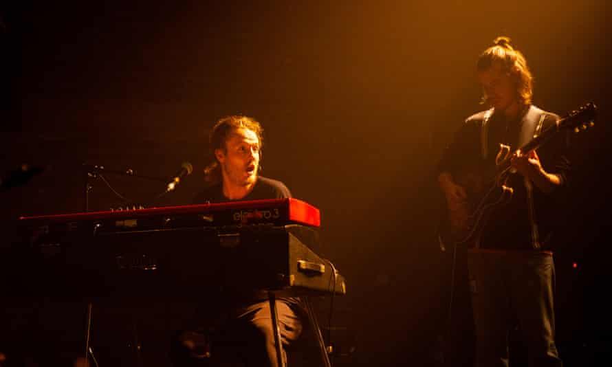 Joe Armon-Jones, left, at Village Underground.