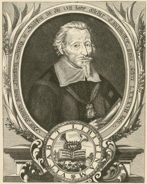 A portrait of Schütz